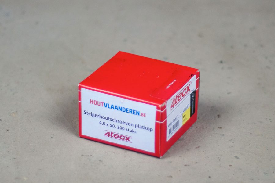 SteigerHout-Schroeven-Platkop-40x50-200-stuks